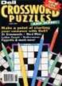 Dell Crossword Puzzle Magazine Subscription